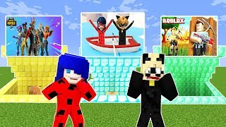 MiNECRAFT GAME PORTALS : ROBLOX, FORTNiTE, GTA 5 Miracle Marienkäfer