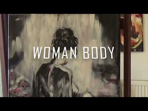 Woman Body By  Gitta E. Végh | HOW TO PAINT WITH ACRYL | Ep: 3