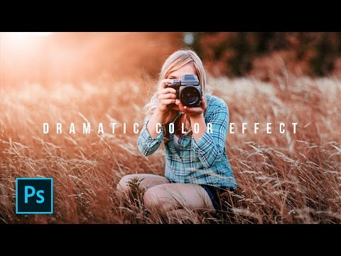Cara Edit Foto Dramatic Color Effect Photoshop - Photoshop Tutorial Indonesia