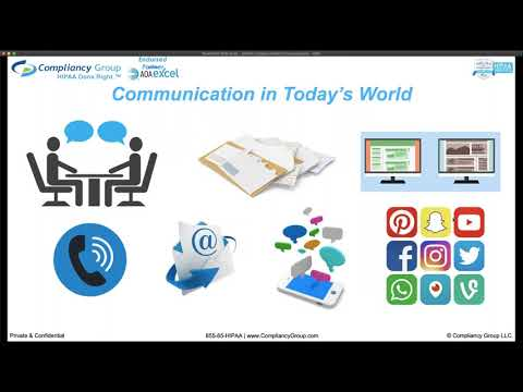 HIPAA Compliant Communications:  How To Communicate With Your Patients Without Violating HIPAA