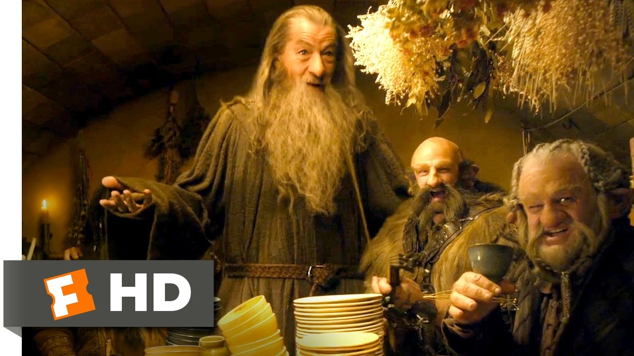 Download The Hobbit: An Unexpected Journey - What Bilbo Baggins Hates Scene (2/10)   Movieclips