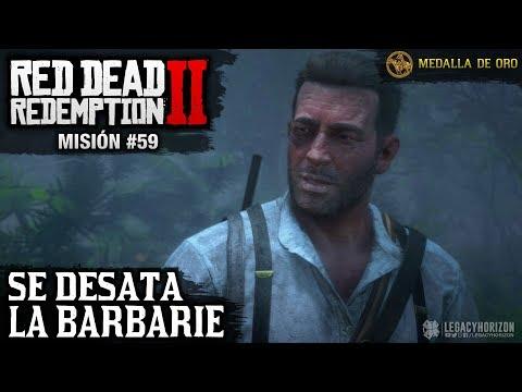 red-dead-redemption-2---misión-#59---se-desata-la-barbarie-(medalla-de-oro)