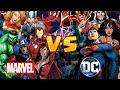 DUELO MORTAL: VINGADORES VS LIGA DA JUSTIÇA (Marvel vs DC) | ThiagoZGB