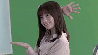 橋本環奈、手振りダンスをヒラヒラ~ 「一緒にやってほしいな!」(CM ブックライブ /橋本環奈)