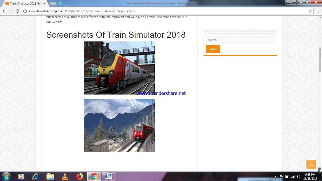 how to play train simulator