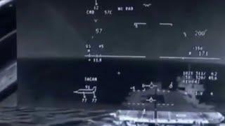 F-35 Helmet Cam Footage Of Shipborne Rolling Vertical Landing (SRVL)