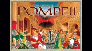The Downfall of Pompeii - Board Game Playthrough