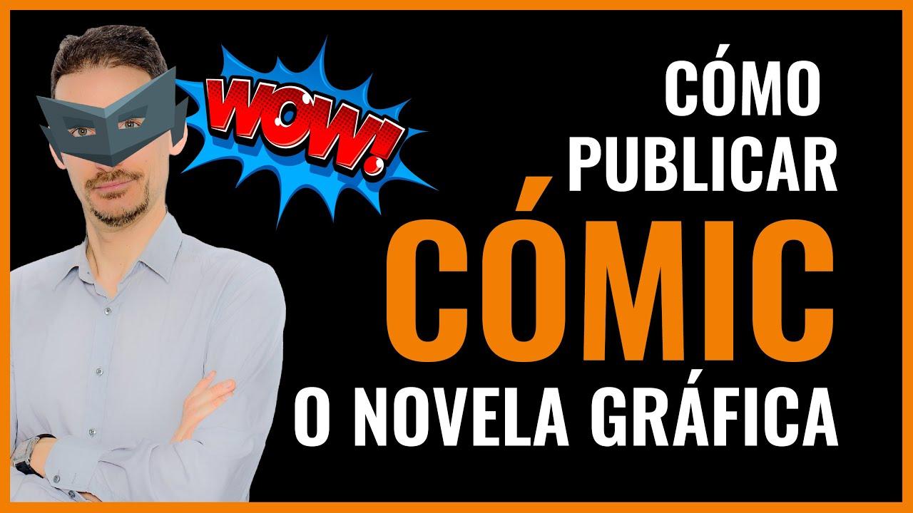 💭Cómo PUBLICAR un CÓMIC o una novela gráfica en Amazon KDP