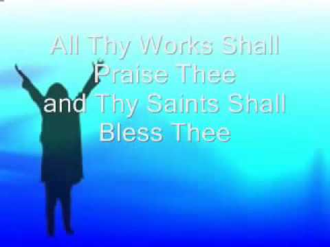 Applegate christian fellowship church  Psalm 145 Worship Video