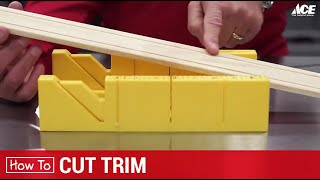 How To Cut Wood Trim - Ace Hardware