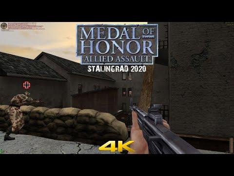 Medal of Honor Allied Assault Multiplayer 2020 Stalingrad 4K