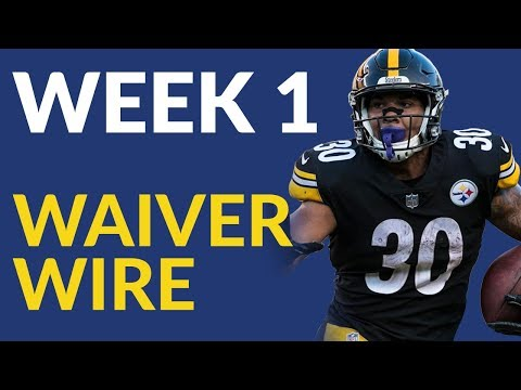Fantasy Football Week 1 Waiver Wire Begins With Questions About Le'Veon Bell & James Conner