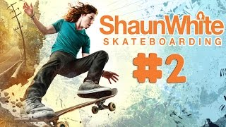 Shaun White Skateboarding - Walkthrough - Part 2 (PC) [HD]