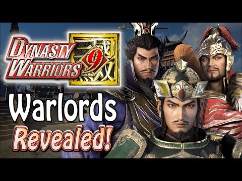 Dynasty Warriors 9 - Cao Cao, Liu Bei & More Revealed!