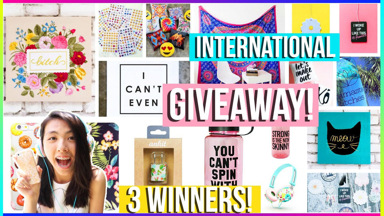 Unboxing stilababe09 giveaway prizes