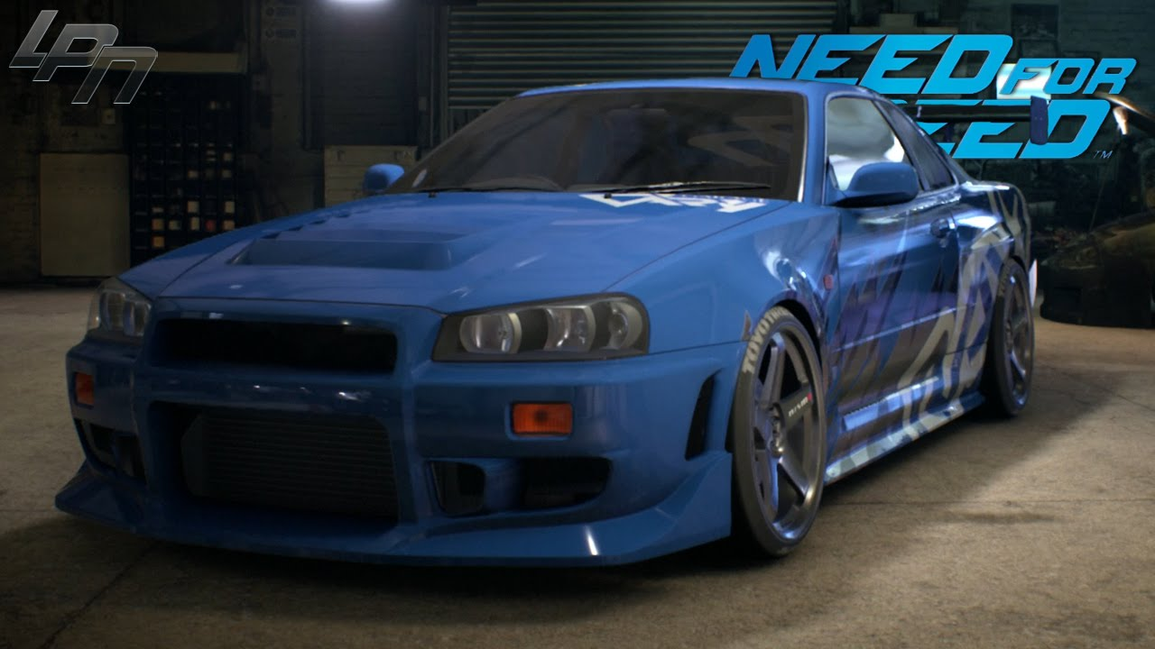 need for speed (2015) - nissan skyline gt-r r34 gameplay (tuning