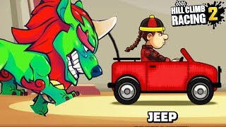 Hill Climb Racing 2 - Jeep on Chinese Event \ GamePlay