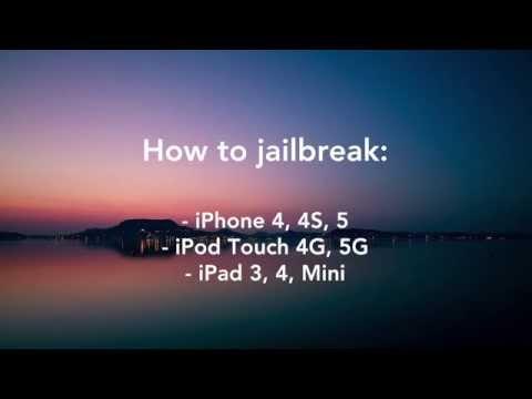 Jailbreak iOS 6.0-6.1.2 iPhone, iPad, iPod Touch iOS with Evasi0n (Untethered Jailbreak) [How To]