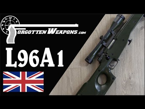 L96A1: The Green Meanie - the First Modern Sniper Rifle
