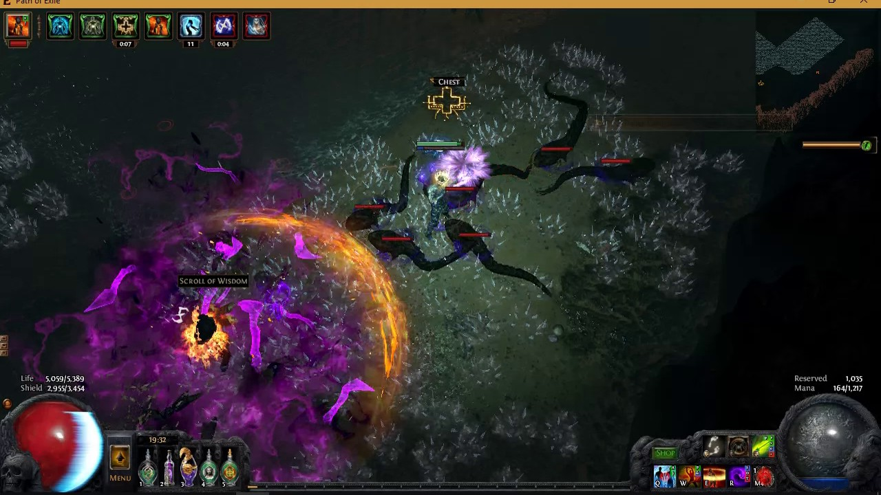 Path of Exile 3 0 Witch Build Lolth, Lady of Chaos, second