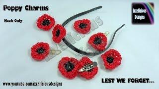 Rainbow Loom - Amigurumi Crochet Poppy for Veteran