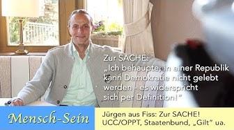 """Jürgen aus Fiss zur Sache: Freeman, OPPT/UCC, Staatenbund, Staatsverweigerer, """"Gilt"""" uvm."""