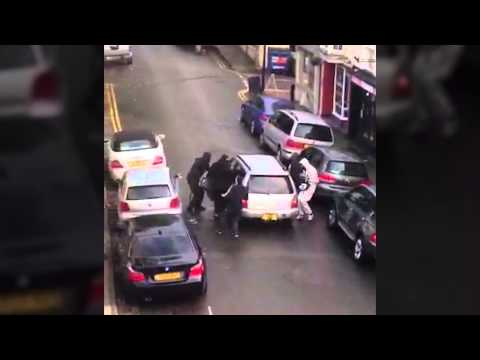 Clifton Village Jewellers raid - October 8, 2014. SWNS