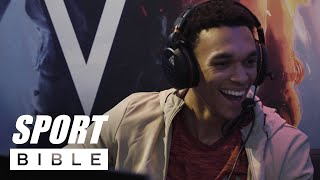 Jesse Lingard, Trent Alexander-Arnold and Joe Gomez go to war on Battlefield V