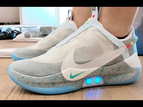 "NIKE ADAPT BB ""MAG"" UNBOXING AND EXPERIENCE  NATHAN'S VLOG S1E7"