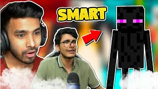 Indian Gamers Intense Fight Smartest Mob Of Minecraft | Techno Gamerz | Battle Factor