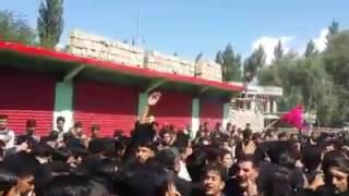 Asad ashura skardu  dasta e abbasia oldeng 1/8/2016