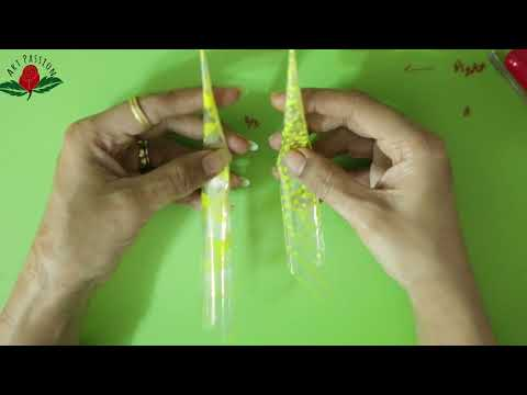 How to make perfect fine tip mehndi cones yourself