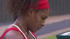 S Williams (USA) v Zvonareva (RUS) Women's Tennis 3rd Round Replay - London 2012 Olympics