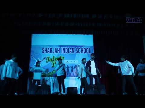Sharjah Indian School Talent's Day 2K17 by  TEAM CHAOS
