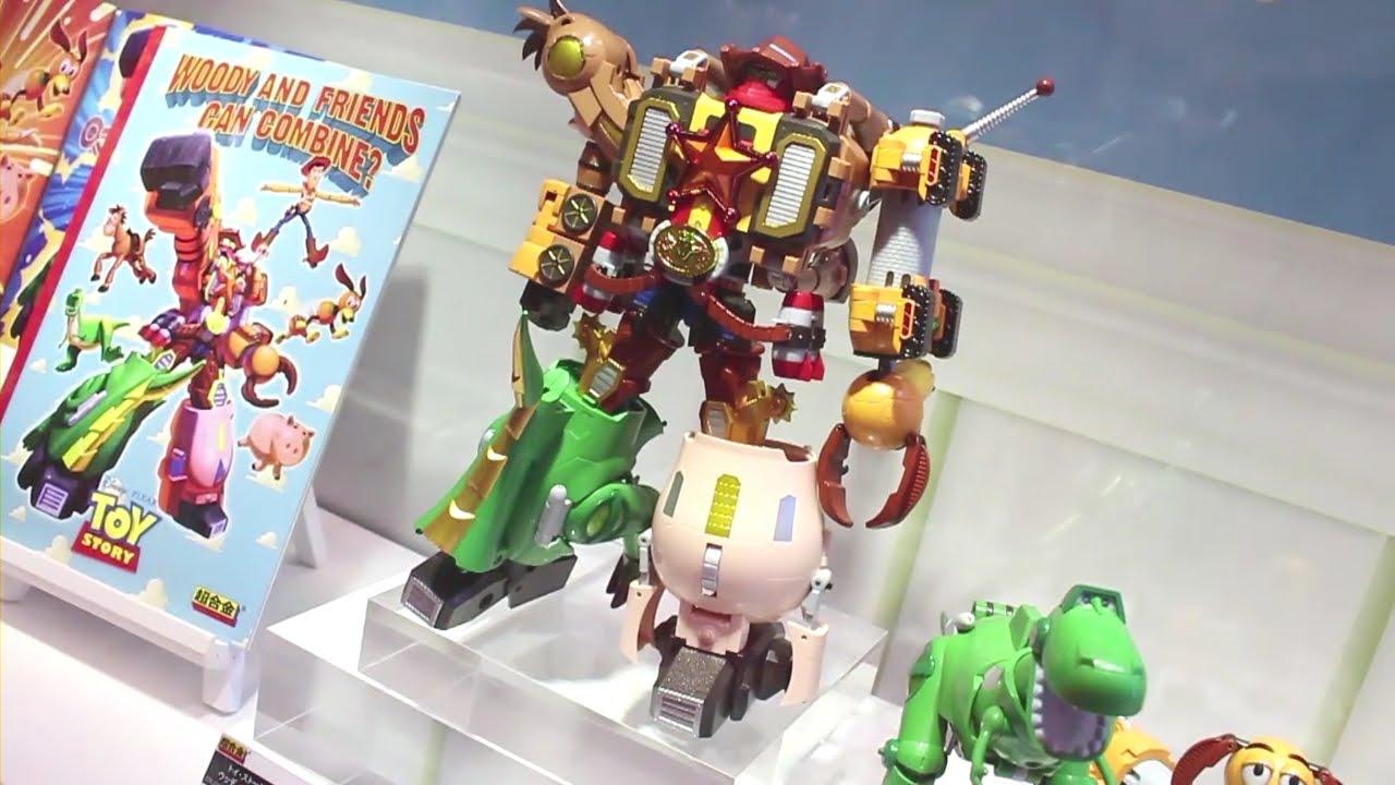 Bandai Tamashii Nations Woody Robo Sheriff Star Chogokin Action Figure