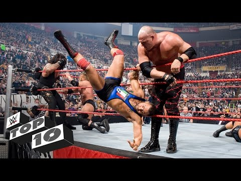 Fastest Royal Rumble Match eliminations - WWE Top 10