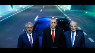 Cumhurbaşkanı Erdoğan, Ovit Tüneli Açılışında konuştu
