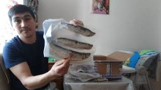 Распаковка посылки от друга из Якутии(Республика Саха)(2)