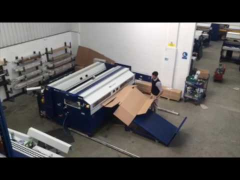 Large Box Making Machines | BCS Autobox