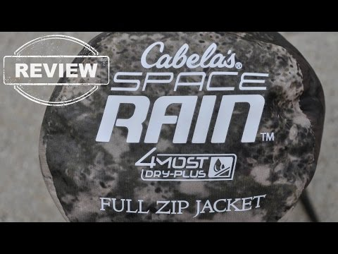 Cabela's Space Rain - REVIEW