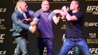 UFC 196: Press Conference: Conor McGregor vs Nate Diaz