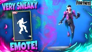 Fortnite VERY SNEAKY DANCE EMOTE | *LEAKED* Season 10 Emote!
