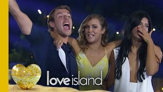 Nathan And Cara Are The WINNERS | Love Island 2016