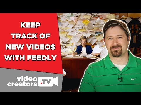 How To Track 100s of YouTube Subscriptions with Feedly