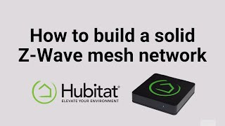 How to build a solid z-wave mesh network