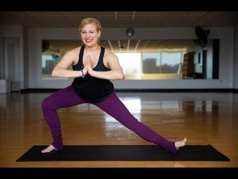 Yoga Gentle Warrior Flow #selfcarechallenge Acceleration Dance Omaha, NE