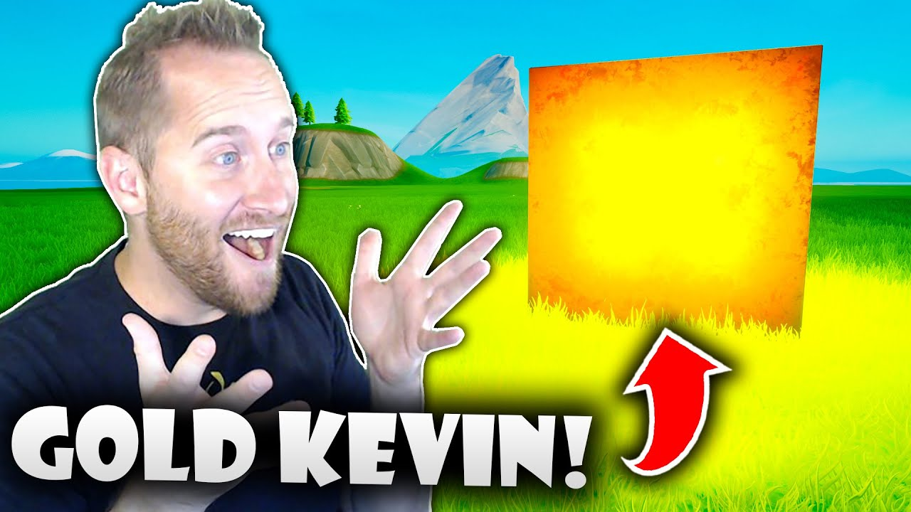 How to Get Gold Kevin in Fortnite Creative!