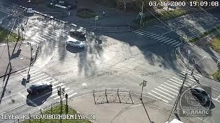 Авария в Красном Селе 12.10.21