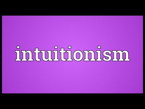 Header of intuitionism