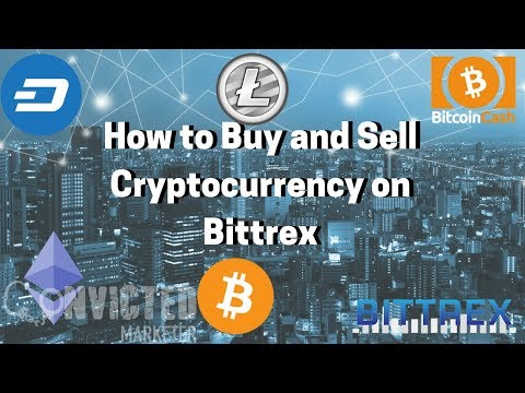 Tutorial On How To Buy And Sell Cryptocurrency On Bittrex